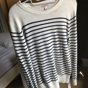 Striped Merona sweater